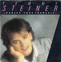 """Tommy Steiner Parlezvous Français 7"""" Single Vinyl Schallplatte 33384"""