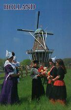 Holland Michigan Tulip Festival, DeZwaan Windmill, Traditional Dress - Postcard