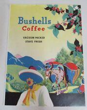 Vintage Bushells Coffee Advertisement - Small Poster - Australia - Reproduction