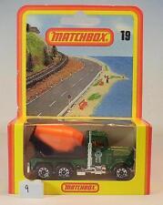 Matchbox Superfast Nr. 19 Peterbilt Cement Truck Nr. 1 Deutsche Hösbach OVP #009