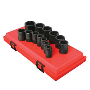 "Sunex Tools 1/2"" Drive SAE Impact Socket Set 2650"