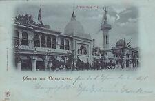 Gruss aus Düsseldorf AK 1898 Arabisches Café Nordrhein-Westfalen 1701089