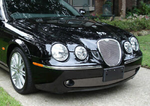 Jaguar S-Type Lower Bumper Wire Mesh Grille 2005-2007 models