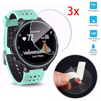 3PC 9H Tempered Glass Screen Protector For Garmin Forerunner 225/230/235/620/630
