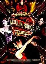 Moulin Rouge (DVD, 2005, 2-Disc Set, Baz Luhrmann) Nicole Kidman, Ewan McGregor