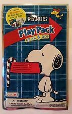 Snoopy / Peanuts - Wundertüte mit Malbuch, Stiften u. Aufklebern / Neu & OVP