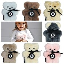 FLATOUT BEAR BABY - Flat Out - Aust Sheepskin - BABY 20CM SIZE - Choose Colour