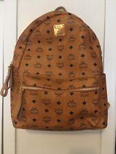 Mcm Large Crown Studded Back Pack