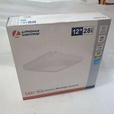 Lithonia Lighting FMLSDL-12-14840 Residential Flush Mount Matte White