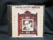 USTAD AMIR KHAN - BORN 1912 - The Legend Lives On / Clasical Vocal from India CD
