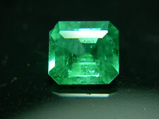 rare Colombian Emerald gem Good Color Clarity Natural Muso Colombia Green Muzo