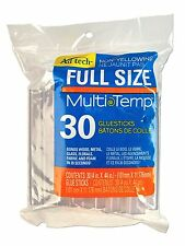 Ad Tech Multi Temp Full Size Hot Glue Sticks Adhesive 4-Inch 30-Pack Crafting