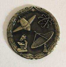 "Gold Science Medal 2"" diameter"