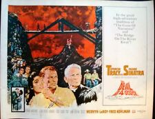 DEVIL AT 4 O'CLOCK half sheet movie poster 22x28 FRANK SINATRA SPENCER TRACY