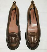 Maggie's Womens Slip On Loafer Size 38 = 8 US  Round Toe Shoes Made in Italy