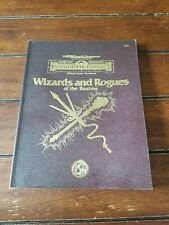 A. Dungeons & Dragons Forgotten Realms Wizards And Rogues Of The Realms 9492