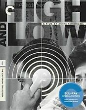 High and Low Criterion Collection Region 1 Blu-ray