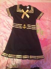 Nautica Captain Blue Sailor Dress 5-7 Year Old