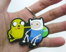 Adventure Time with Finn and Jake Dog  Beemo BMO keychain pendant Keyring PVC