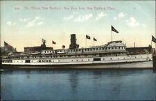 New Bedford MA Steamer Maine c1910 Postcard #2