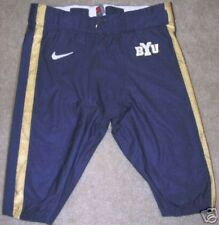 BYU COUGARS GAME USED FOOTBALL PANTS UNIFORM NIKE 32 S