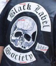 Lourd Métal Noir Label Society Ventilateur Club: BLS 4-PATCH Set Pour Arrière De