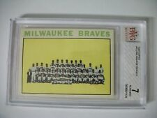 MILWAUKEE BRAVES TC 1964 Topps #132 BVG NM 7