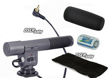 SG-108 DV Stereo Microphone for Nikon D7000 D300s D5100 Coolpix P7000