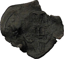 Latin Rulers of Constantinople 1204-1261AD Byzantine Coin Virgin Chi-Rho i30694