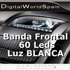 TIRA DE 60 LED FRONTALES 60cm LUZ DIURNA DAYLIGHT 12V