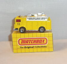 MJ7 Matchbox -  Yellow Box - MB57 Mack Auxiliary Power Truck -  Yellow