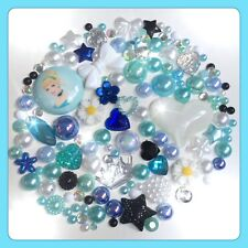 Disney Cinderalla Theme Cabochon Gem & pearls flatbacks for decoden crafts #2