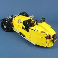Morgan 3 Wheeler Sports Car Technical Brick Model - 838 pieces, 1:8 Scale