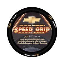 Chevy Bowtie Premium Speed Grip Leatherette Steering Wheel Cover