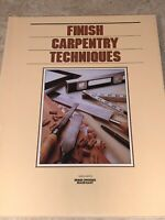 Grolier's Home Owning Made Easy FINISH CARPENTRY TECHNIQUES Book