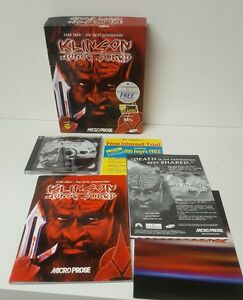 Star Trek Pc Cd Rom Game The Next Generation Klingon Honor  Guard  (1998)
