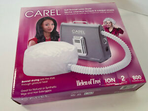 Carel Soft Bonnet Ionic Tabletop Portable Hair Dryer Helen Of Troy Open Box