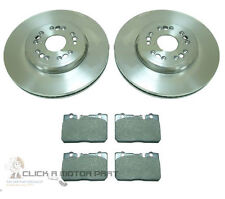 FRONT 2 BRAKE DISCS AND PADS SET NEW FOR LEXUS LS400 4.0 1995-2000