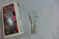 Wine Bottle Stopper Mikasa Austrian Lead Crystal  Fruit Collection Grapes New