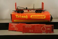 Triang OO/HO Trains Boxed R.249 Battle Space Exploding Car RARE RED GC