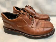 KENNETH COLE Reaction Brown Leather Lace Up Men's Shoes Size 9.5 M W02733