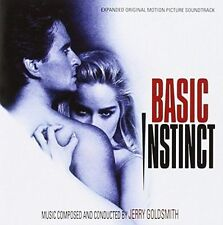JERRY GOLDSMITH - BASIC INSTINCT [ORIGINAL SOUNDTRACK] [DELUXE EDITION] NEW CD
