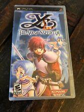 COMPLETE!!  Ys: The Ark of Napishtim (Sony PSP, 2006) CIB!  RARE!