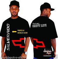 Custom Shirt for CHEVROLET Silverado 1500 2500HD 3500HD Crew Cab Ext and more