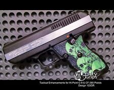 Textured Rubber Grip Enhancements for Hi-Point 9mm, 380ACP Design 103GR