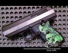 Textured Rubber Grip Enhancements for Hi-Point 9mm, 380ACP Design 103GR