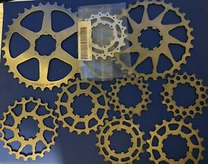NEW OLD STOCK JOB LOT CAMPAGNOLO CASSETTE COGS & SPACERS