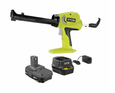 New listing One+ 18V Cordless Power Caulk and Adhesive Gun Kit with 1.5 Ah Battery Charger