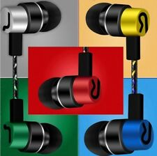 New Silver Earphones Headphones For iPhone 6 5 5s 6s SE iPad iPod Handsfree Mic