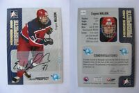 2005-06 ITG Heroes and Prospects A-EMA Evgeni Malkin autograph RC AUTO Metallurg